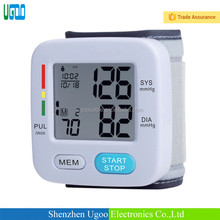 factory sale hot cheap 3 colors backlight Digital Blood pressure meter