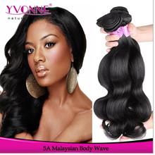 Top grade 5a human virgin malaysian wavy hair