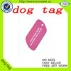 Custom fashion design metal epoxy 2015 promotion epoxy dog tag