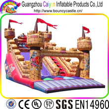 fire truck gaint inflatable slides