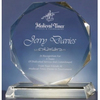 Round shape crystal cheap acrylic trophy award,models acrylic trophy