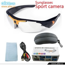 Full HD 720P Sport Action Sunglasses dvr camera 170 degree Wide- Angel Sunglass camera Camcorder Video Recorder+remote control