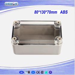 DS-AT Series Waterproof Junction Box, Transparent Junction Box, Electric Junction Boxes 80*130*70mm