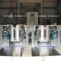0.10 Ton MF Induction Melting Furnace / Melting Oven
