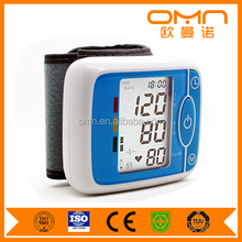 Digital wrist watch blood pressure monitor with competitive price