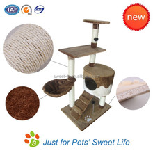 Sweet Pet Products Cat Climbing And Sleeping Cat Tree House
