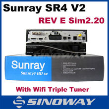 Sunray&dm&dreambox 800 hd se clone dm800hd se V2 sim card 2.20 Motherboard Rev E version sr4 v2 digi sat receiver