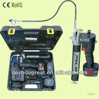 12V new Cordless Electric Grease gun with lubricant