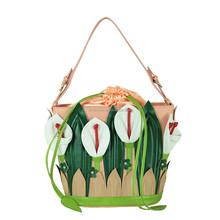 Lily Flower fashion shape Amliya brand colorful shoulder bag 9711