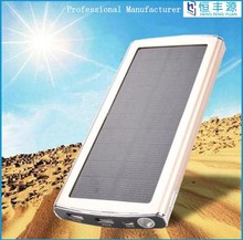 2015 Shenzhen factory price 10000mAh new solar mobile power bank