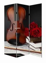 violin photo custom room dividers
