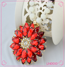Spring and Summer New Arrive Fashion Jewelry Vintage Sunflower Pendant Necklace