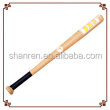 Promotion best Low price baseball equipment wooden baseball bat for decoration