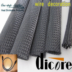 PET expandable sleeving / heat shrink wire sleeve /PET wire harness sleeving