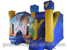 bespoke Hot sale cartoon inflatable combo,inflatable bouncer