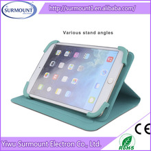 Flip Stand Leather Case For iPad mini PU leather belt clip flip cover case for ipad