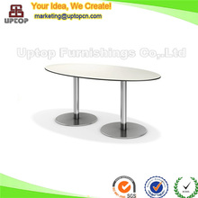 (SP-RT424) oval dining outdoor used phenolic table for restaurant