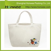 new products custom plain blank standard size canvas tote bag