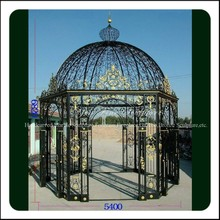 High Quality Morden Wrought Iron Gazebo