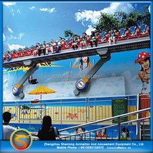 Amusement attraction attractive thrilling ride crazy waves miami amusement ride for sale