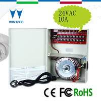 Metal box slim power supply 24V 10A