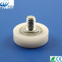 China High quality POM pulley dr22 flat caster wheels