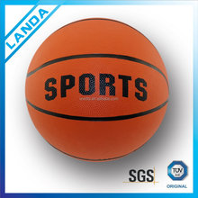novel style school picture printed exercises basketball ball