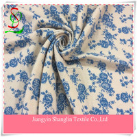 Print knit fabric for winter clothes