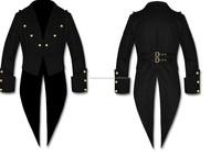 punk clothing rave clothing men men gothic clothing black gothic clothing formaldehyde free clothing xxl gothic clothing