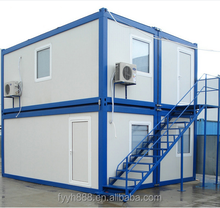 20 feet low cost container house/prefabricated residential container
