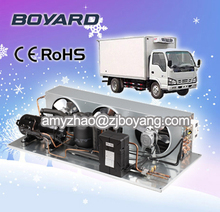 Air cooled unit for refrigeration condensing unit small cold room supermarket island freezers display showcase cabine