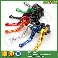 Cnc Anodizing Refit Colorful Racing Motorcycle Adjustable Brake Lever For Ktm 690 Duke R