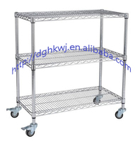 Mild steel workshop material supermarket cart anti-static trolley mute wire low carbon steel bearing flat cart