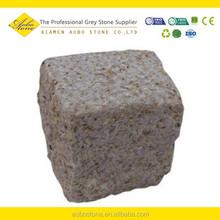 Rusty Yellow Grante 10x10x10 granite cube