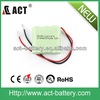 hot sale rechargeable ni-mh 3.7v 2/3aaa 300mah battery pack