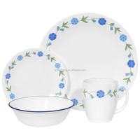 blue and white patterned dinnerware,arts and crafts dinnerware,light blue dinnerware