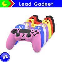 Colorful High Quality Controller Silicone Skin Case Compatible for PlayStation 4