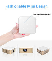 Original Factory Handheld DLP LED Pico projector with wifi Android led projector with battery Best Home Theater Mobile cinema