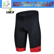 Black Red Color Cycle Shorts Men Bike Shorts Cycling Sport Wear