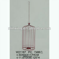 kings and stainless bird cage