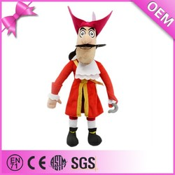 Wholesale Best Made Delicate Detail Pirate Plush Toy