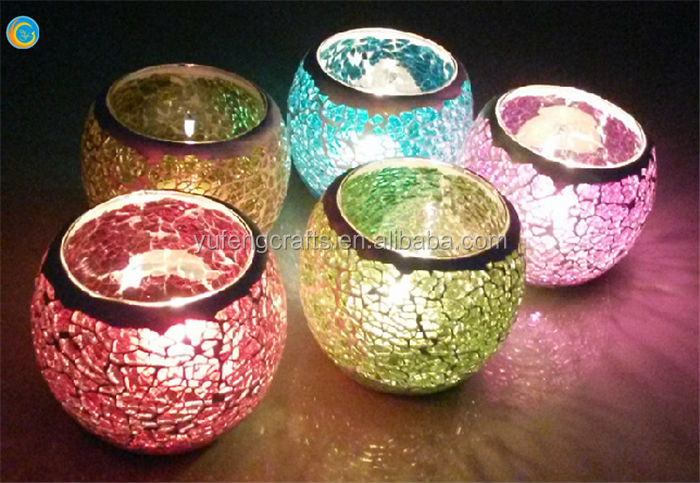 Handmade Craft From Waste Mate Candle Holder