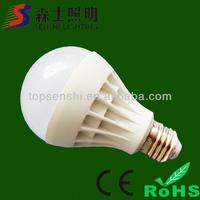 Imitation ceramic e27 led plastic bulb 3w 5w 7w led lighting bulb
