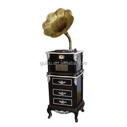 Black Wholesale Vintage Gramophone for Home Decor YM-208B