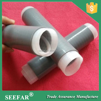 Silicone Rubber Cold Shrinkable Coaxial Cable Sleeve Cold Shrink Tube with Adhesives