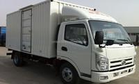 big load weight KD-Q002 gasoline mini box van truck