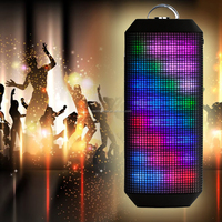 Mini,Portable,Wireless Special Feature and Active Type bluetooth speaker with led light
