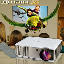 led hdmi home theater video projector 3500 lumens support 1080p 3D, 50000hours life