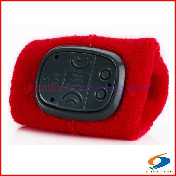 bracelet teknosa pedometer manual watch calories wristband pedometer
