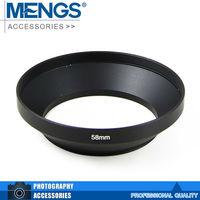 MENGS 58mm Wide Lens Hood for DSLR Camera 14140009901